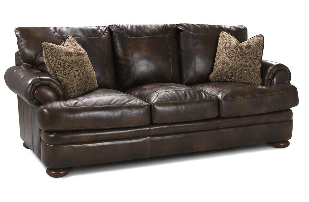 Elliston Place MontezumaLeather Studio Sofa