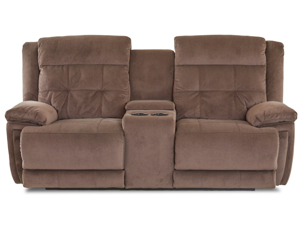 Elliston Place McCallPower Reclining Loveseat with Power Headrest