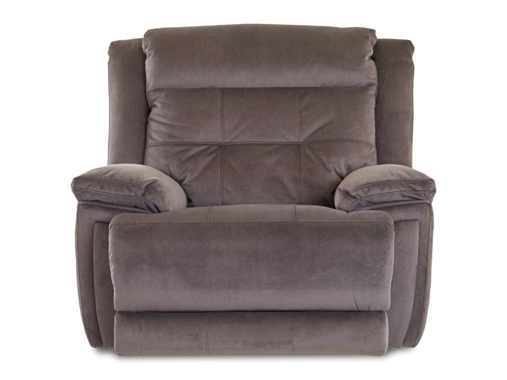 Klaussner McCallPower Rocking Recliner with Headrest/Lumbar