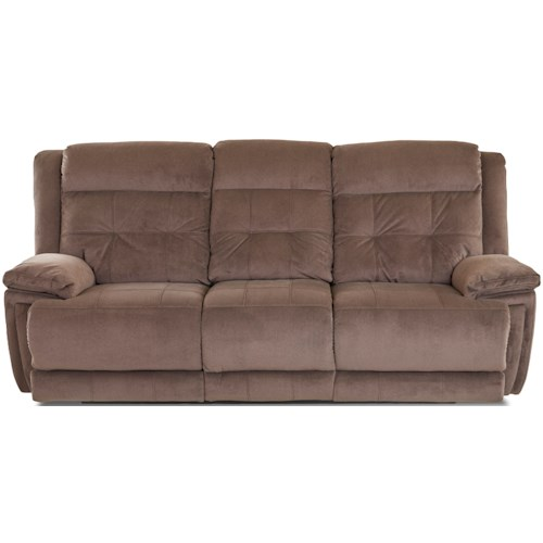 Klaussner McCall Casual Power Reclining Sofa with Power Headrest/Lumbar and USB Port