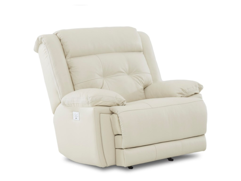 Klaussner McCallPower Recliner with Power Headrest