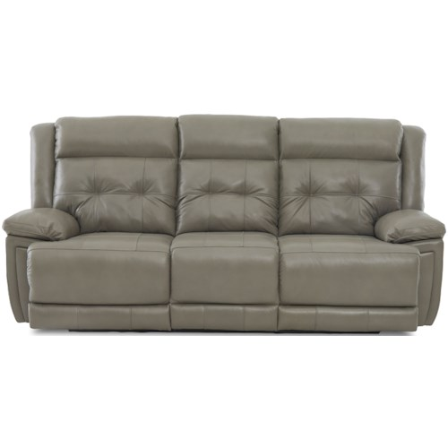 Klaussner McCall Casual Power Reclining Sofa with Power Headrest and USB Port