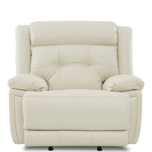 Klaussner McCall Casual Power Rocking Recliner with Power Headrest/Lumbar and USB Port