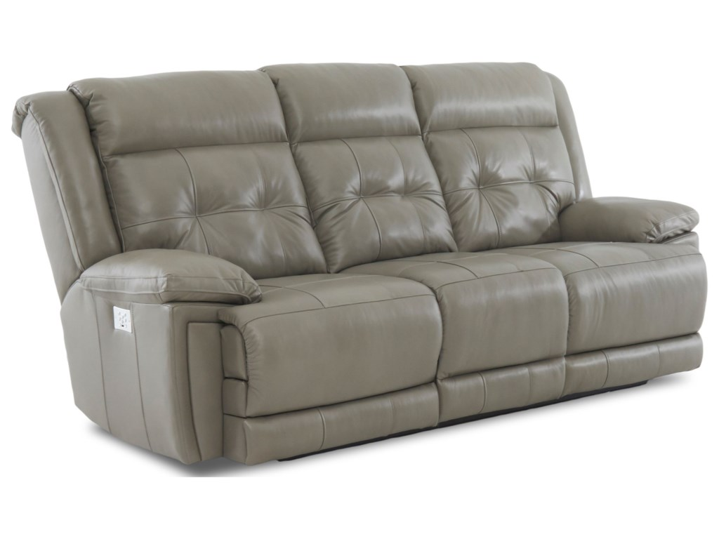 Elliston Place McCallPower Reclining Sofa with Headrest/Lumbar