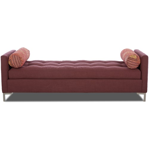 Klaussner Uptown Klaussner Contemporary Accent Bench
