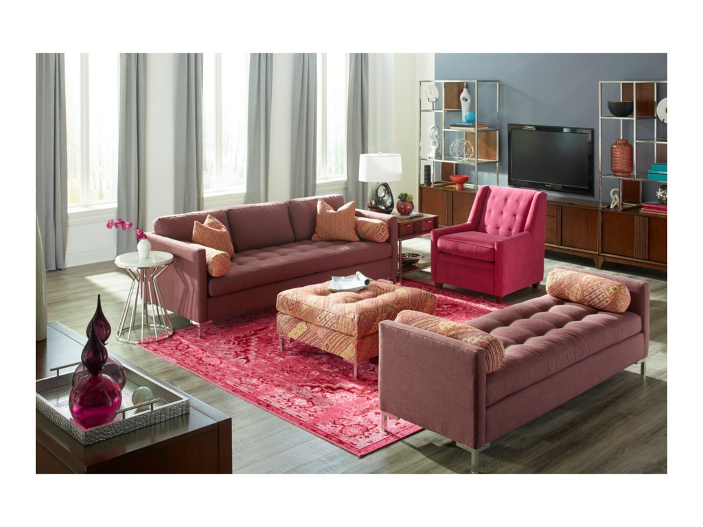 Elliston Place UptownKlaussner Contemporary Sofa