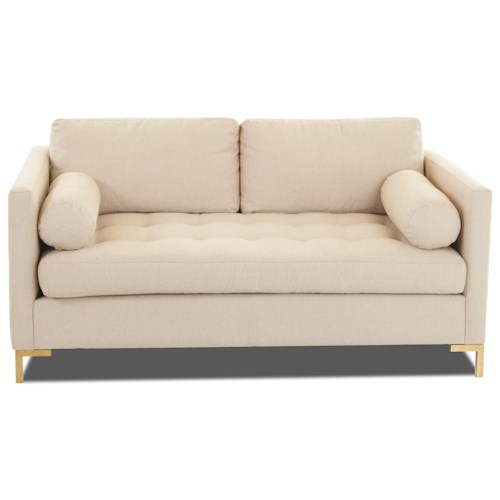 Klaussner Uptown Klaussner Contemporary Love Seat