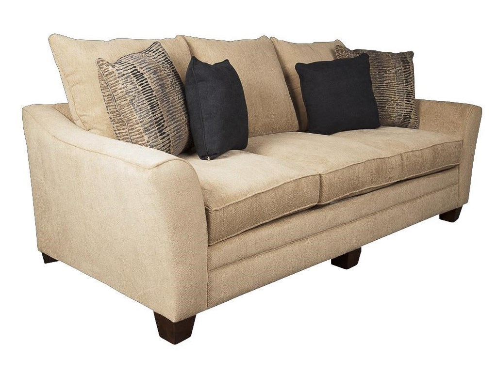 Klaussner FelicityFelicity Sofa with Accent Pillows