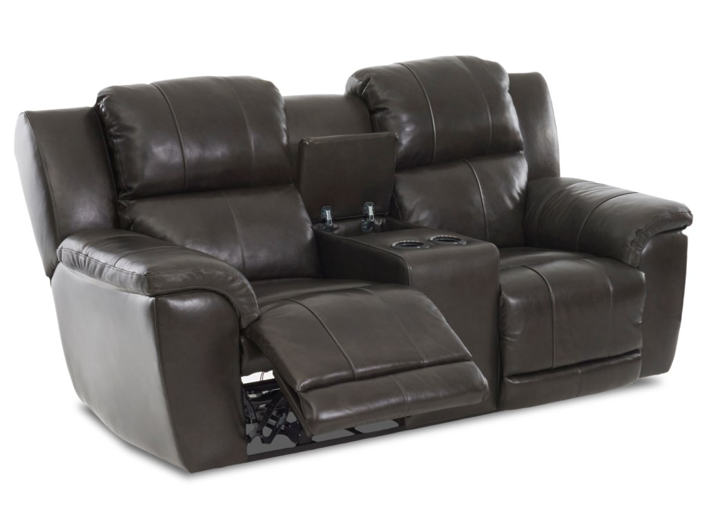 Elliston Place AlbusPower Reclining LS w/console