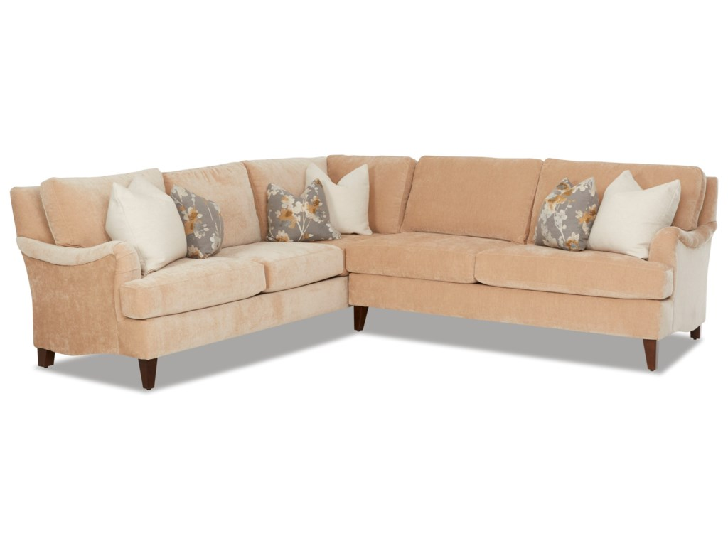 Klaussner Alden2-Piece Sectional