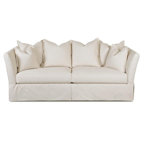 Klaussner Alexis Traditional Sofa with Slipcover