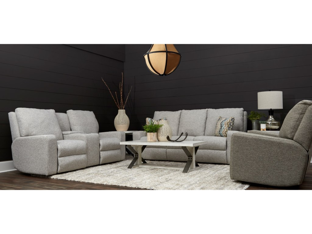 Klaussner AlliserPower Reclining Living Room Group