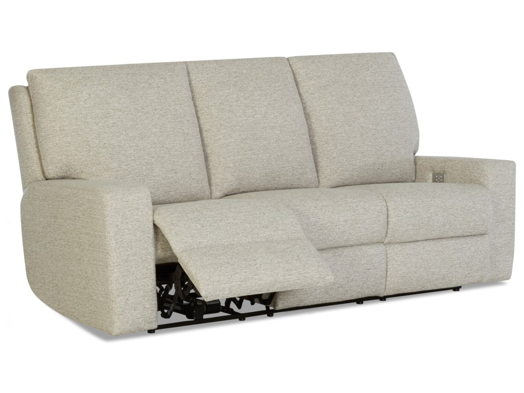 Klaussner AlliserPower Reclining Sofa w/ Power Headrests