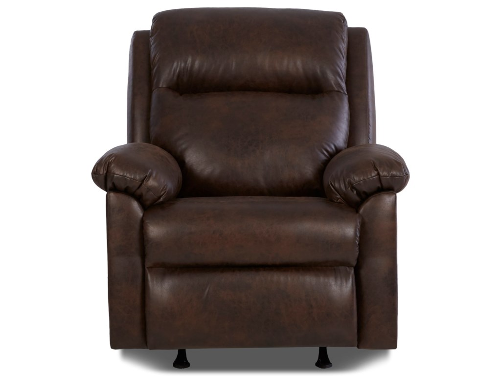 Klaussner AmariPower Rocker Recliner w/ Power Headrest