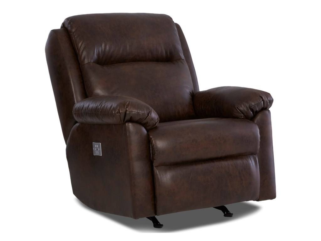 Klaussner AmariPower Recliner w/ Power Headrest