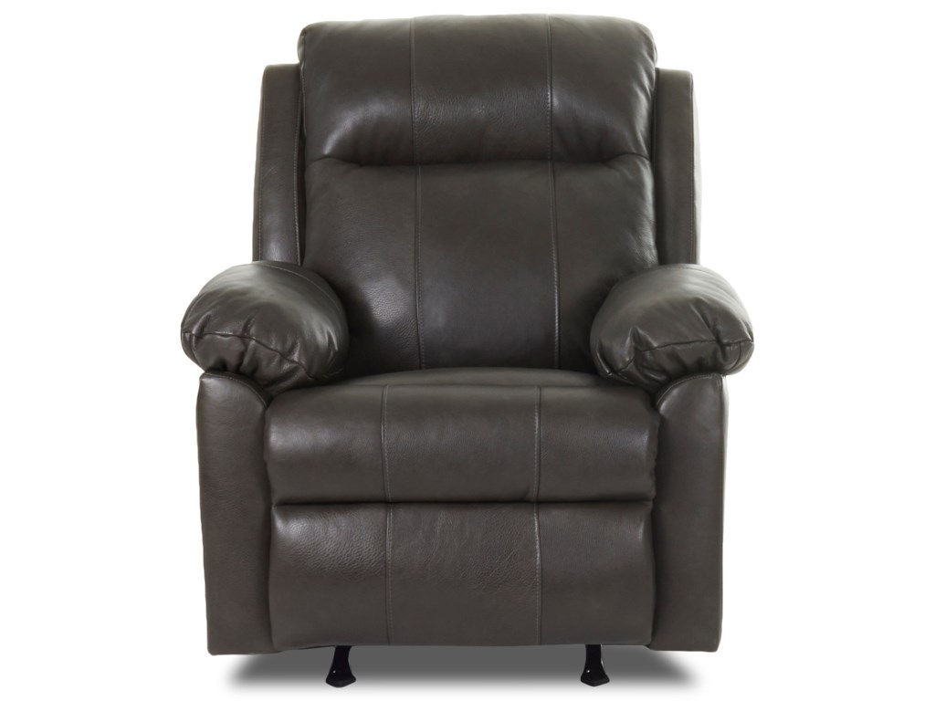 Klaussner AmariPower Rock Recliner w/ Pwr Head &Lumbar