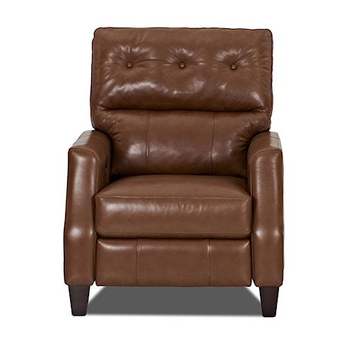 Klaussner Amesbury  Traditional High Leg Reclining Chair