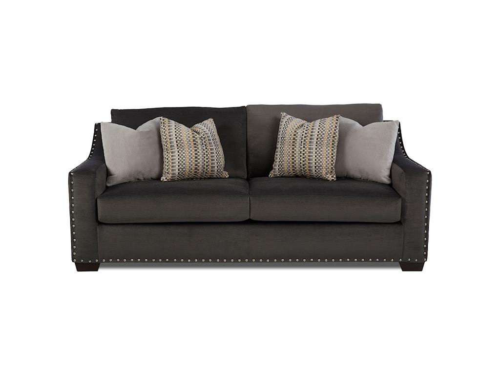 Klaussner ArgosInnerspring Sleeper Sofa w/ Nails
