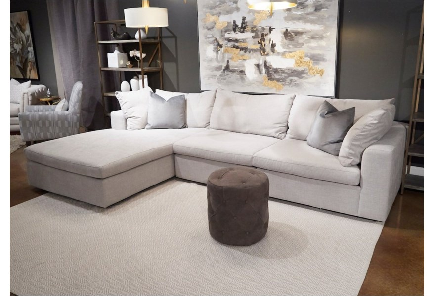 Sectional Sofa With Laf Wide Chaise