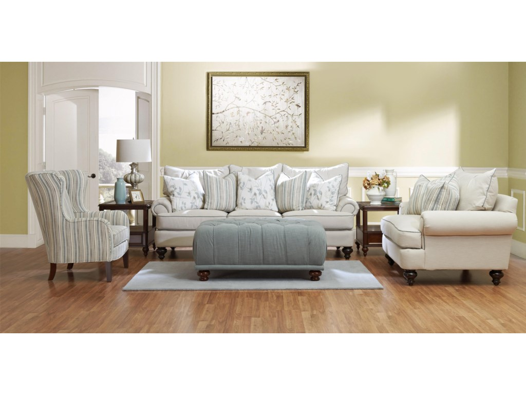 Klaussner Ashworth D95200Stationary Living Room Group