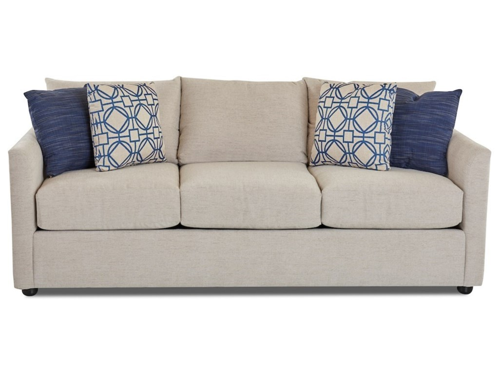 Klaussner AtlantaSleeper Sofa w/ AirCoil Mattress