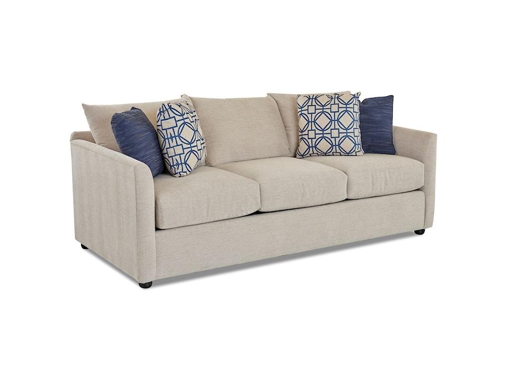 Klaussner AtlantaSleeper Sofa w/ Dreamquest Mattress