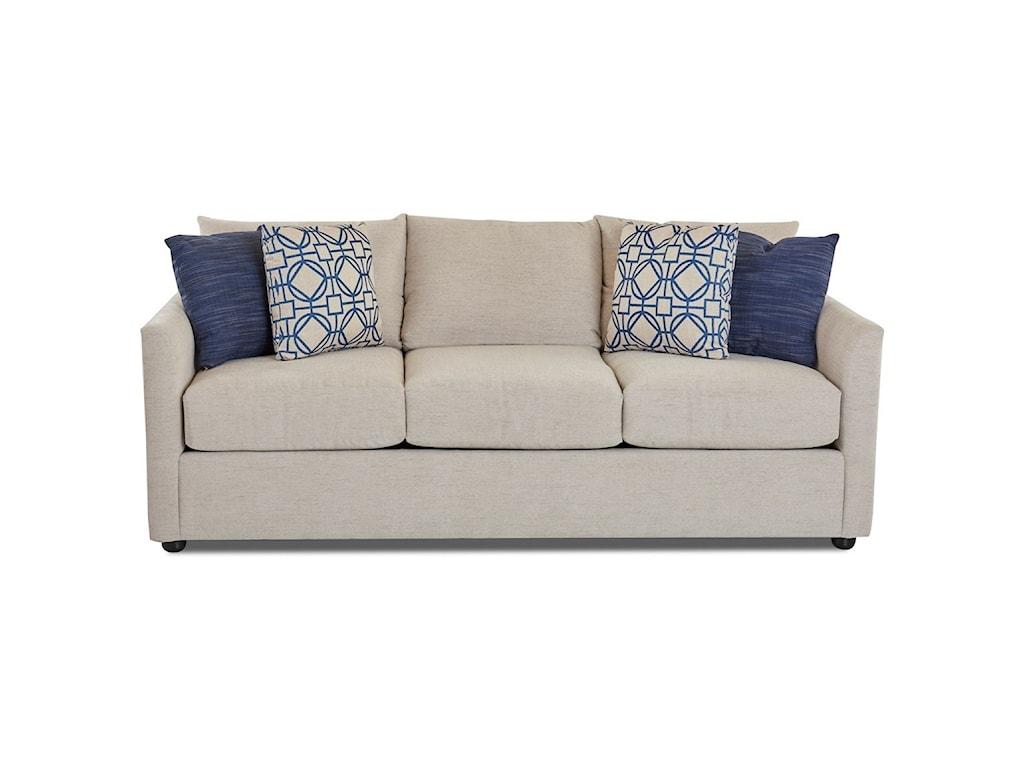 Klaussner AtlantaSleeper Sofa w/ Enso MemoryFoam Mattress