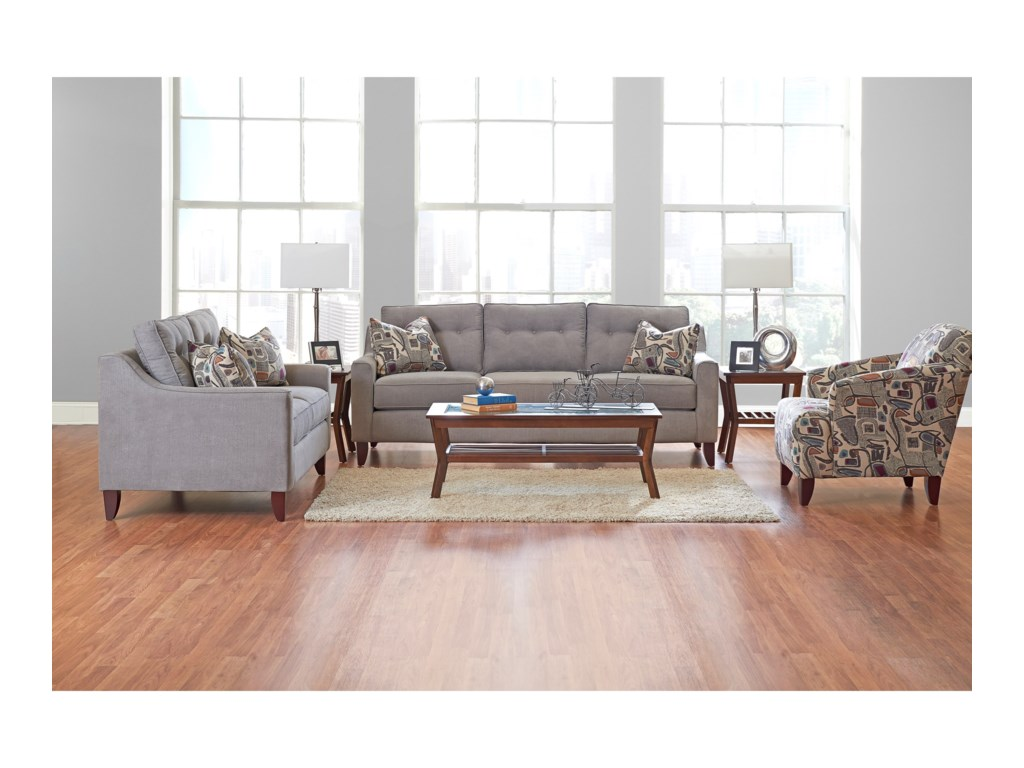 Klaussner AudrinaStationary Living Room Group