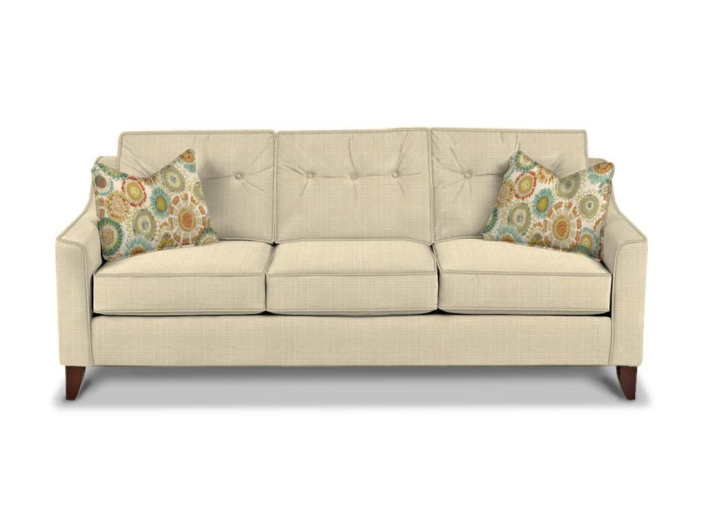 Modern Style Sofa klaussner audrina mid-century modern style sofa with tufted