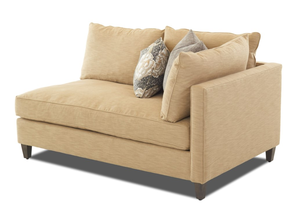 Klaussner AugustModular Sofa Chaise