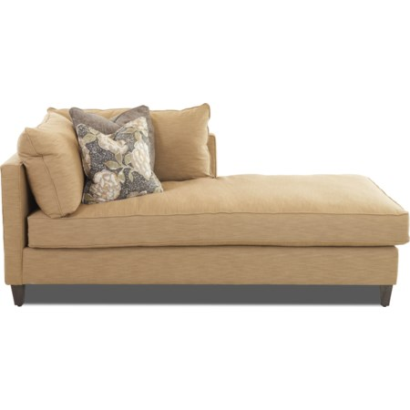 1 Arm Right Facing Chaise Lounge