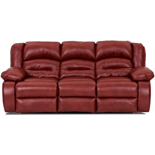 Klaussner Austin Casual Power Reclining Sofa