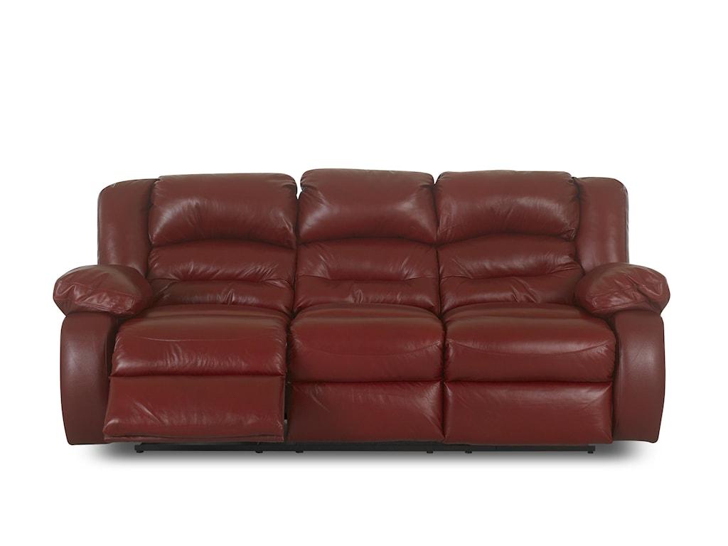 Klaussner AustinCasual Reclining Sofa