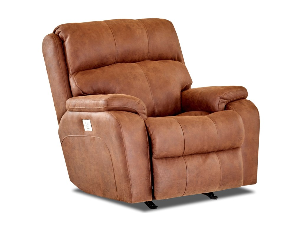 Elliston Place AverettPower Rocking Reclining Chair w/ Pwr Head