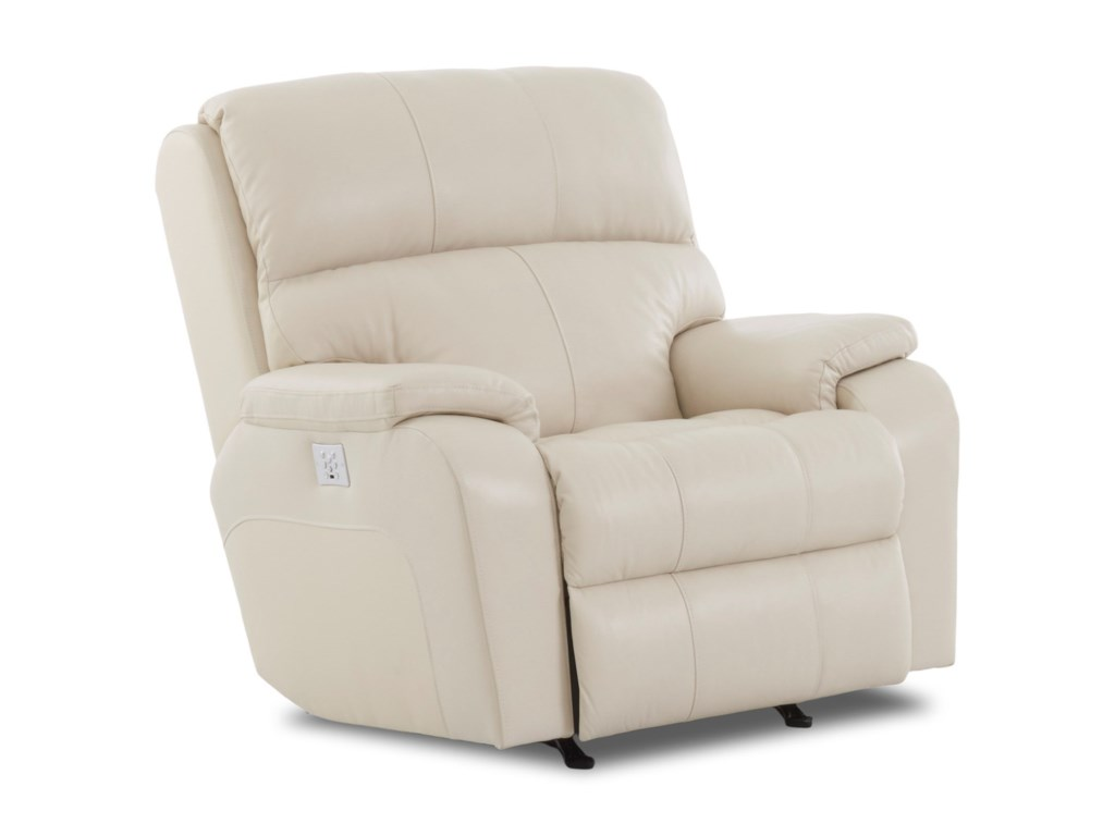 Klaussner AverettPower Rocking Reclining Chair