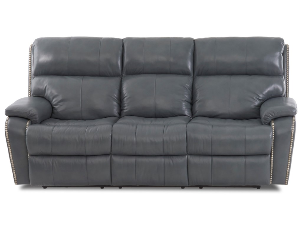 Simple Elegance AverettPower Reclining Sofa w/ Nails