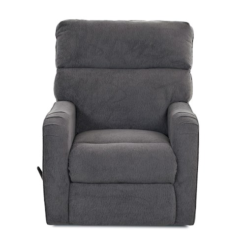 Klaussner Axis 25803 Transitional Swivel Gliding Reclining Chair
