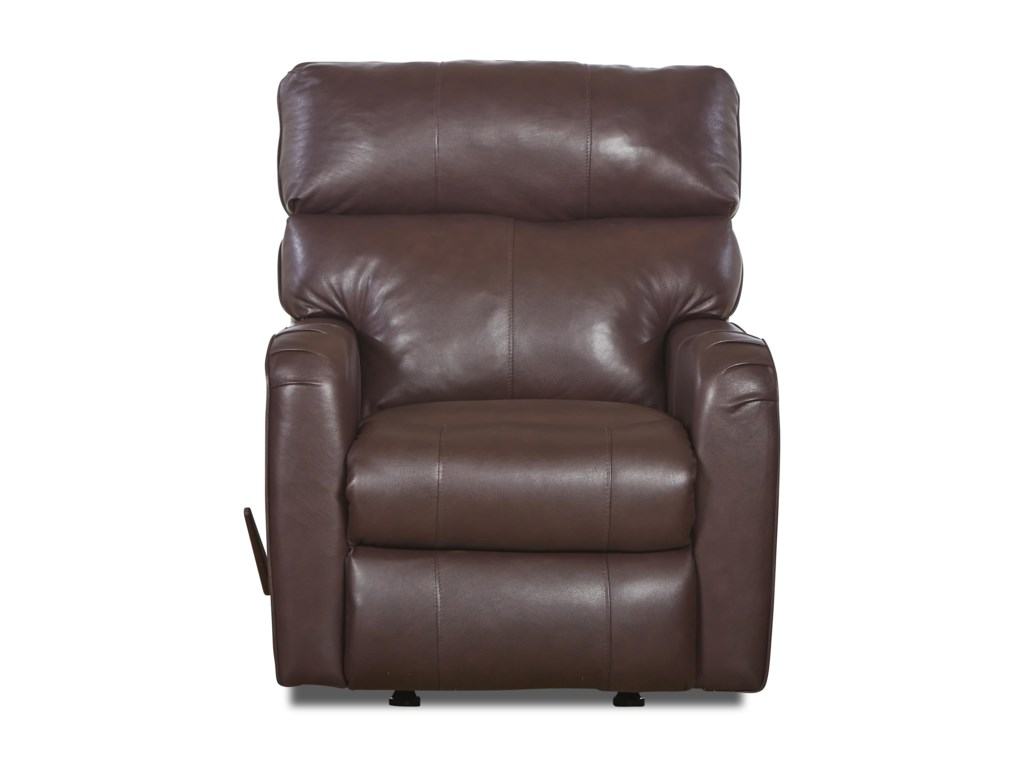 Klaussner Axis 25803Transitional Swivel Rocking Reclining Chair