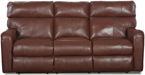 Klaussner Axis 25803 Transitional Reclining Sofa