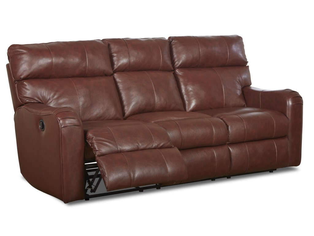 Klaussner Axis 25803Transitional Power Reclining Sofa