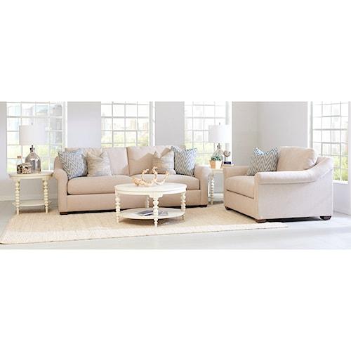 Klaussner Balboa Stationary Sofa Room Group