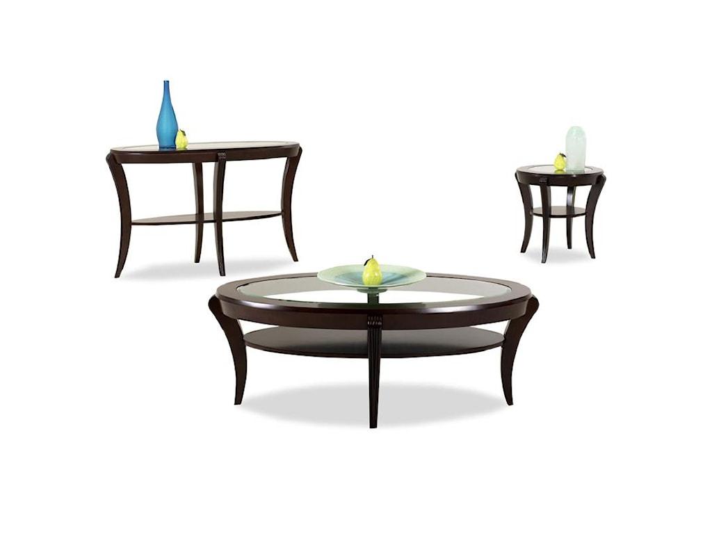 Klaussner International BanderoEnd Table