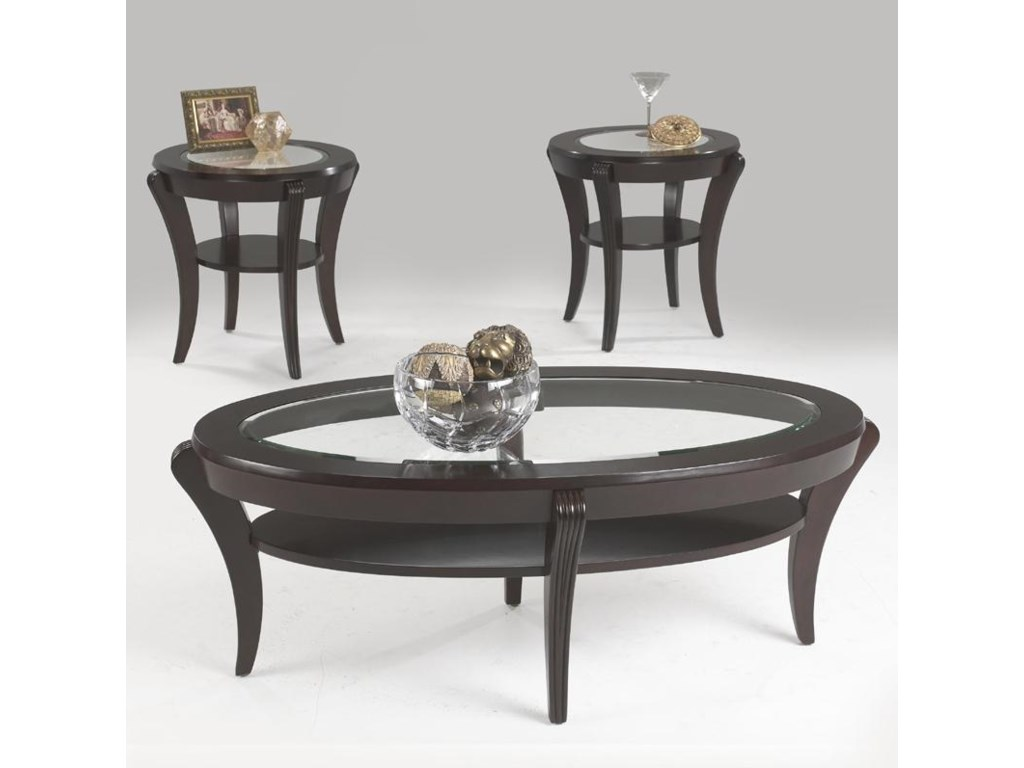 Metropia International BrownsvilleEnd Table