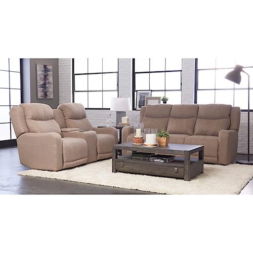 Klaussner Barnett Reclining Living Room Group