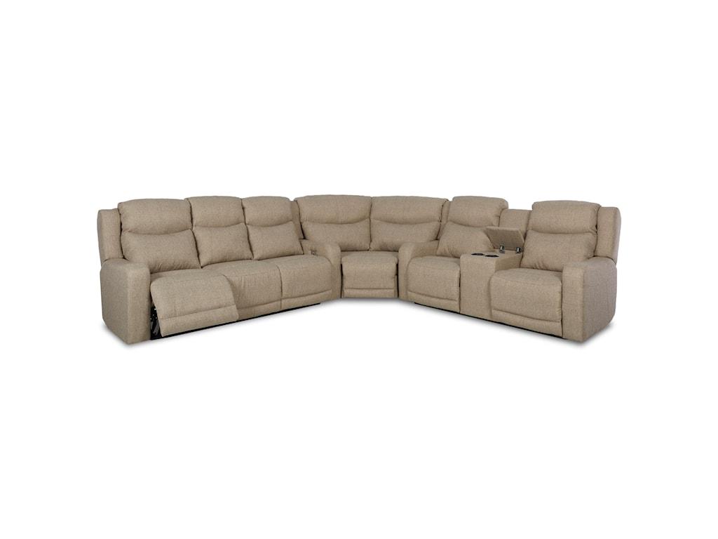 Klaussner Barnett3 Pc Reclining Sectional Sofa