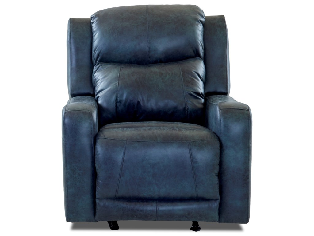 Klaussner BarnettPwr Rocking Recliner w/ Pwr Head and Lumbar