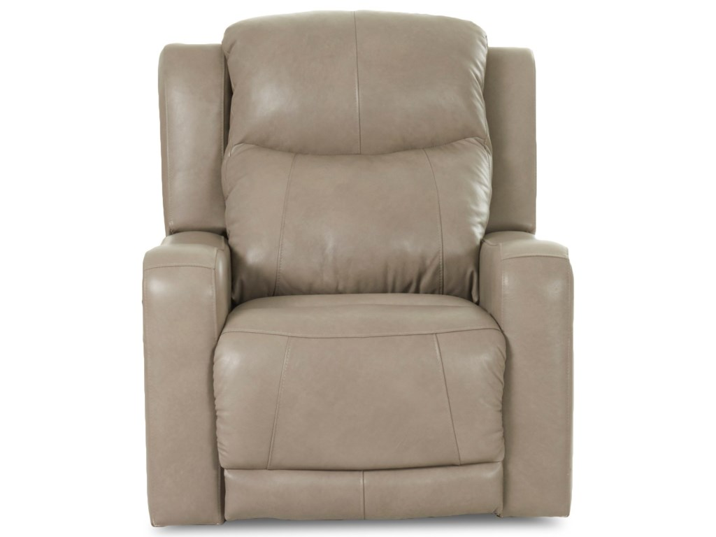 Klaussner BarnettPwr Recliner w/ Pwr Head and Lumbar