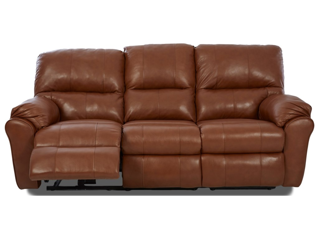 Klaussner BatemanPW3RS Ends w/Pwr, Ctr-Manual Sofa