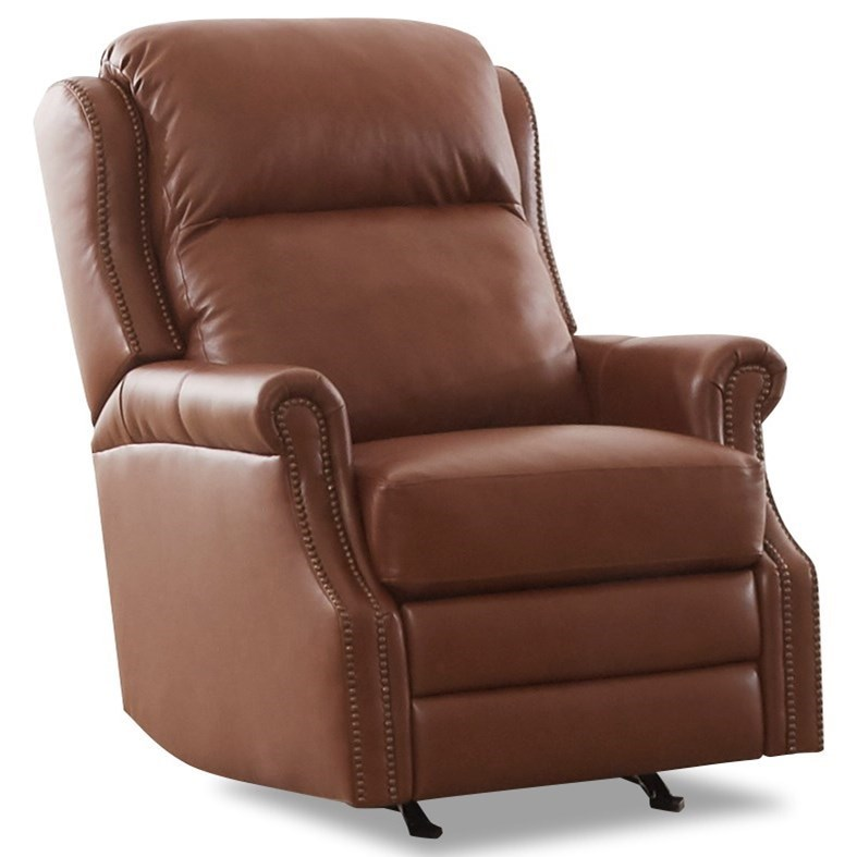 Power Rocking Reclining Chair with Power Headrest and Lumbar