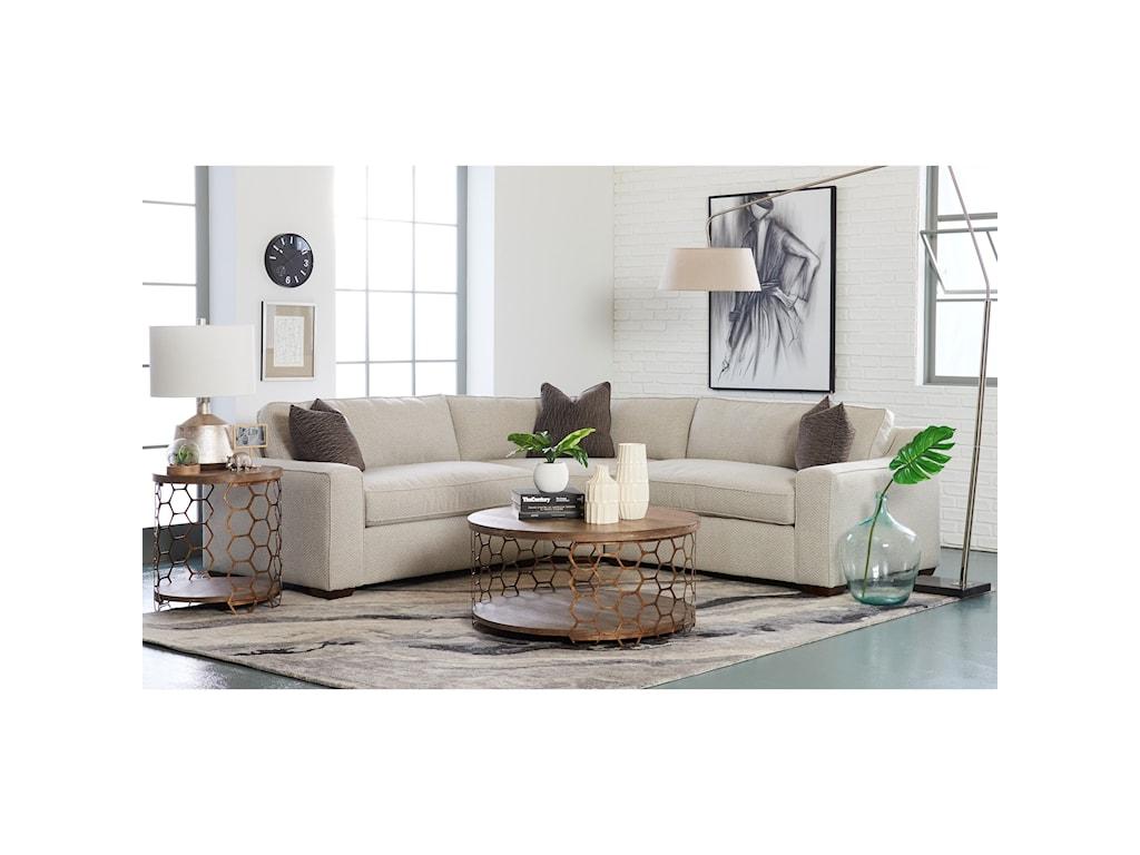 Klaussner Becks3 Pc Sectional Sofa